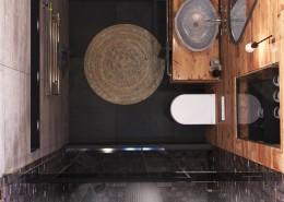 Дизайн интерьера ванной п. Красная поляна от Студии FRINO