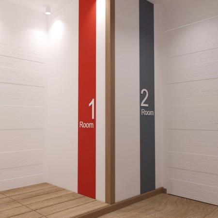 Дизайн интерьера прихожей п. Красная поляна от студии FRINO