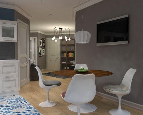 Дизайн интерьера квартиры в г. Краснодар от студии FRINO