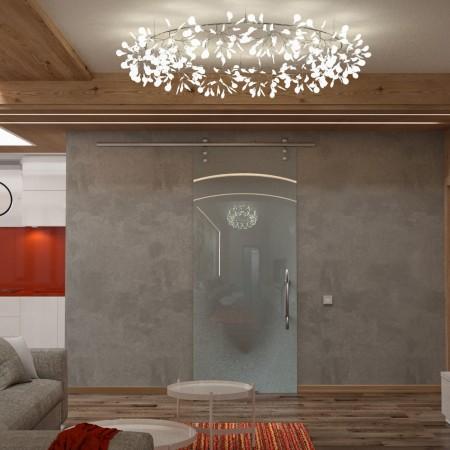 Дизайн интерьера гостевой зоны.