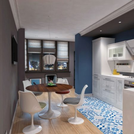 Дизайн интерьера квартиры г. Краснодар от студии FRINO