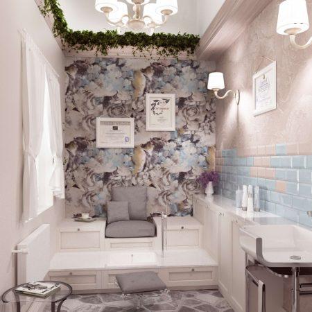 Дизайн интерьера салона красоты в Краснодаре.