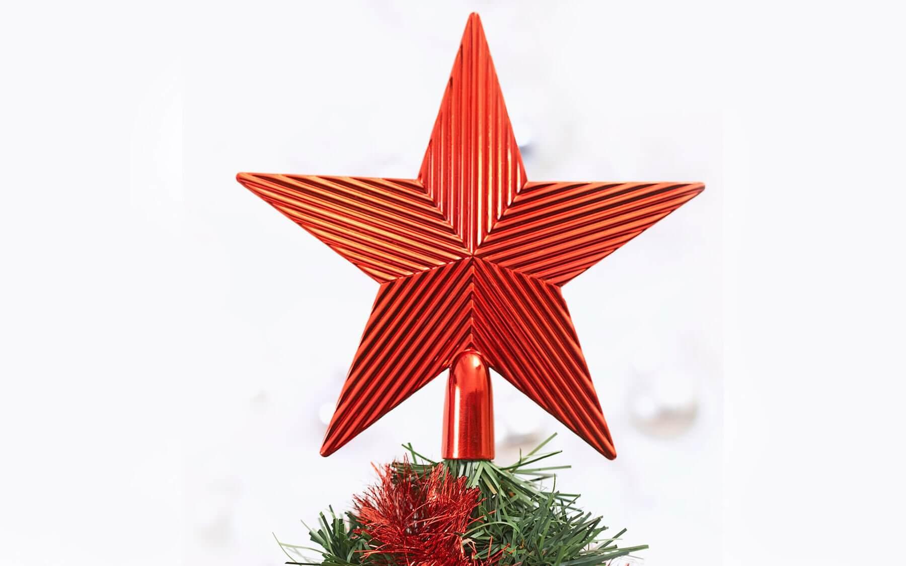 Жизнь елочной игрушки в советском союзе. Звезда.