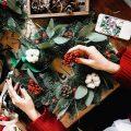 Новогодний декор ручной работы 2018