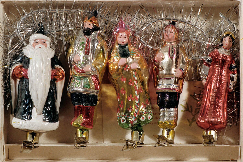 Жизнь елочной игрушки в советском союзе