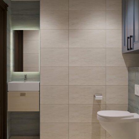 Дизайн интерьера трехкомнатной квартиры в Краснодаре от студии FRINO