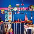 Синяя кухня в мексиканском стиле