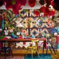 Яркая столоввая в мексикансокм стиле