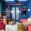 Синий цвет в мексиканском стиле интерьера