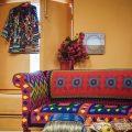Желтый интерьер в мексиканском стиле