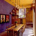 Желтый цвет в мексиканском стиле интерьера